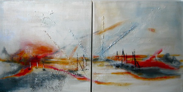 Sailing Home (Diptych)