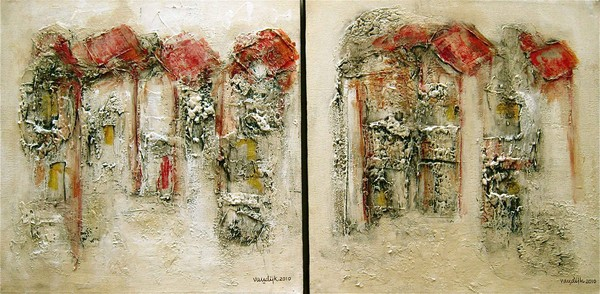 HOUSES (Diptych)