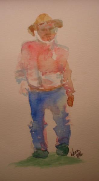 Man:  Color Study