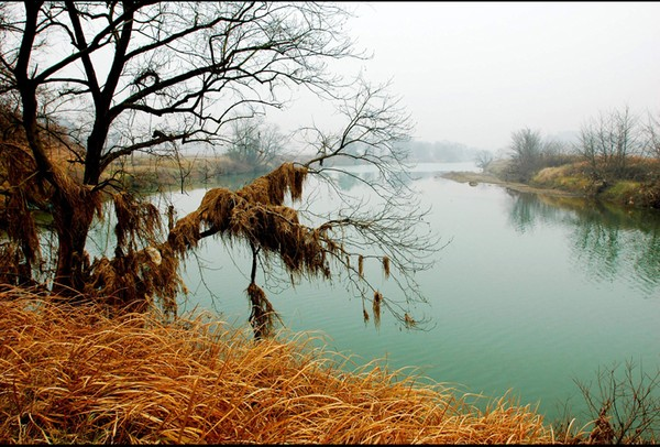 the autumn of Tsa river