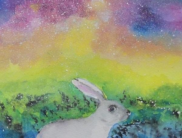 Rabbit in Galaxy 4