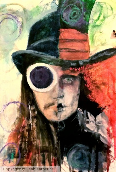 johnny depp/tim burton portrait