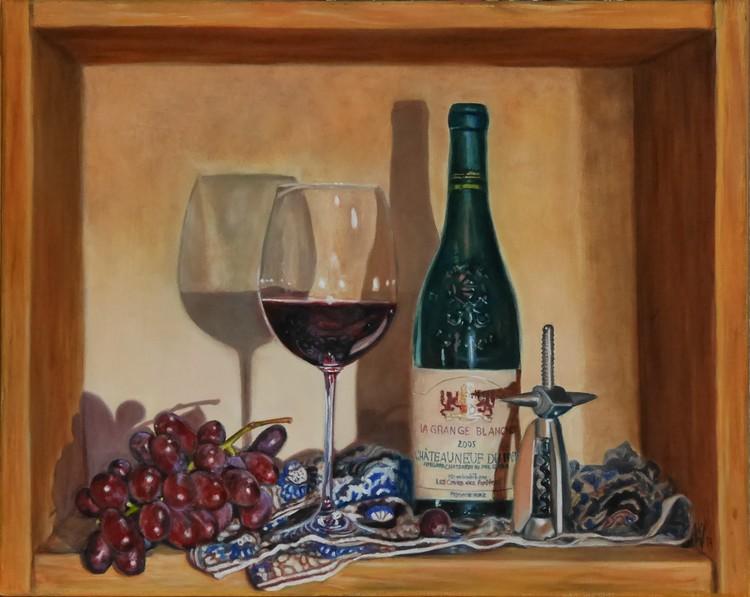 vine still life (Weinstillleben)