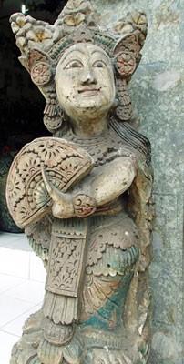 Bali carving