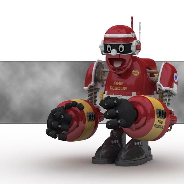 ArnieBot (in Lightwave)
