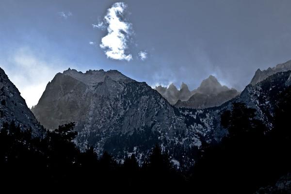 Mount Whitney Backlit