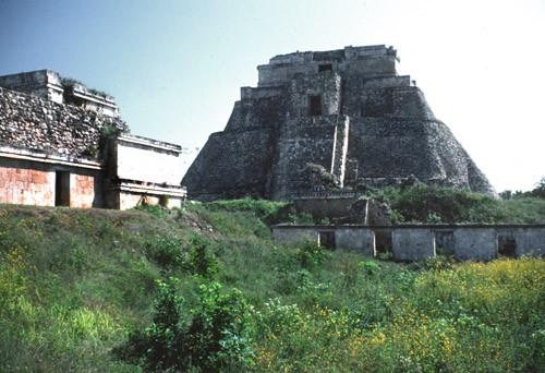 Pyramid of the Magician, Uxmal, Yucatan