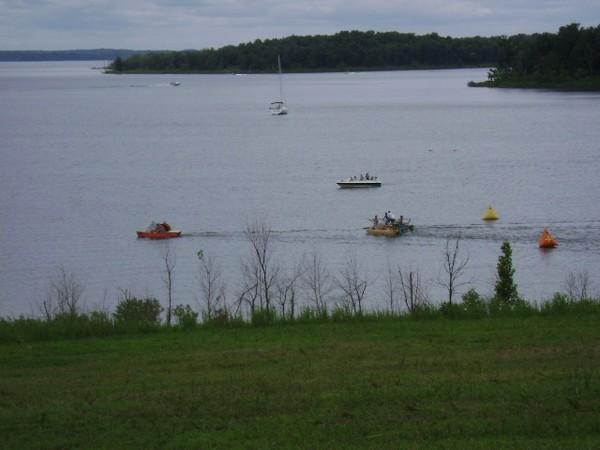Raft Races Stockton Lake