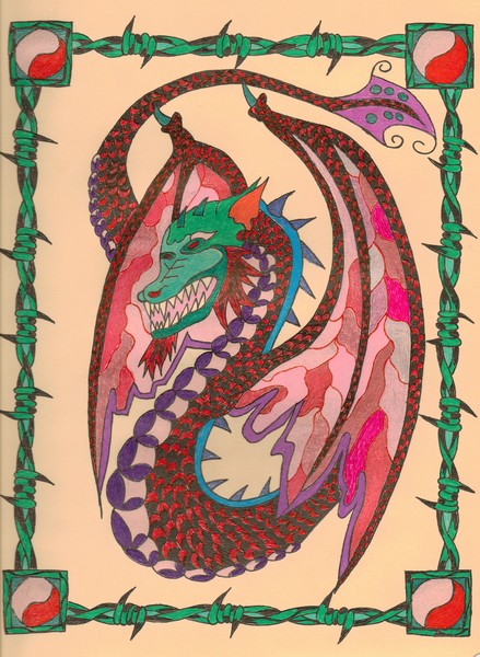 Nora's Dragon by The Rooster (c) 2010