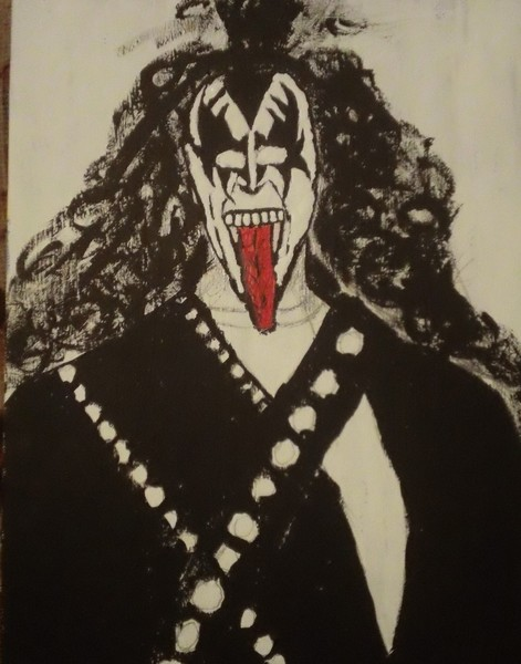 almost finished with gene simmons