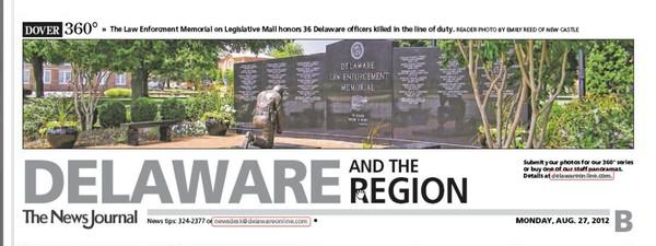 67th News Journal Panorama-Police Memorial