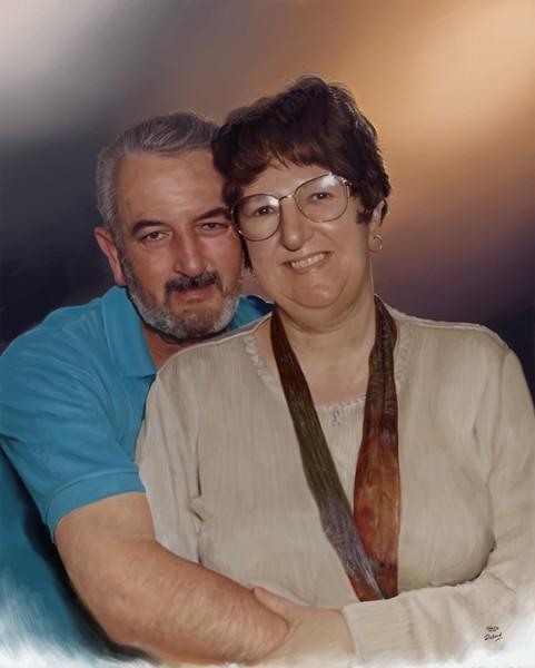 Artistic Tribute to Mum & Dad