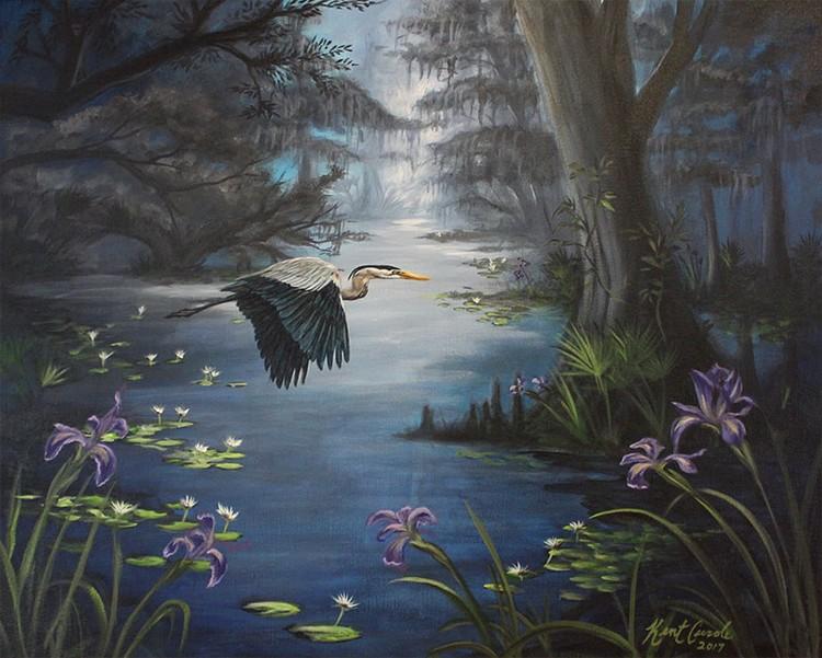 Louisiana Blue Heron