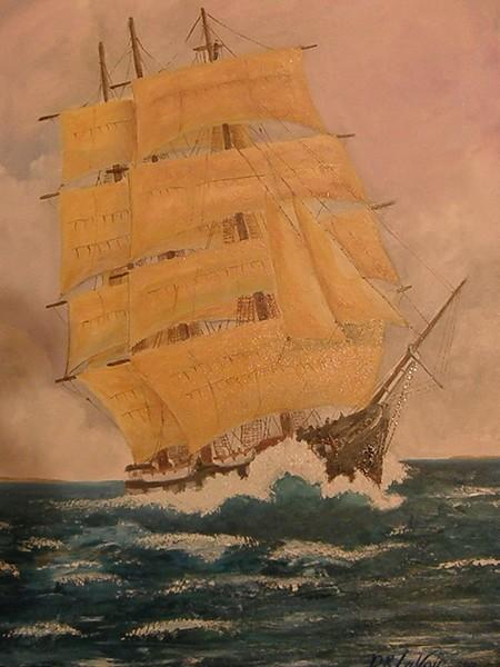 C.W. Morgan Leaving New Bedford, Ma.(sold)