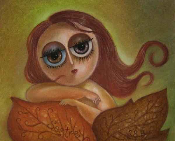 Portrait of Mrs. Autumn (SOLD)