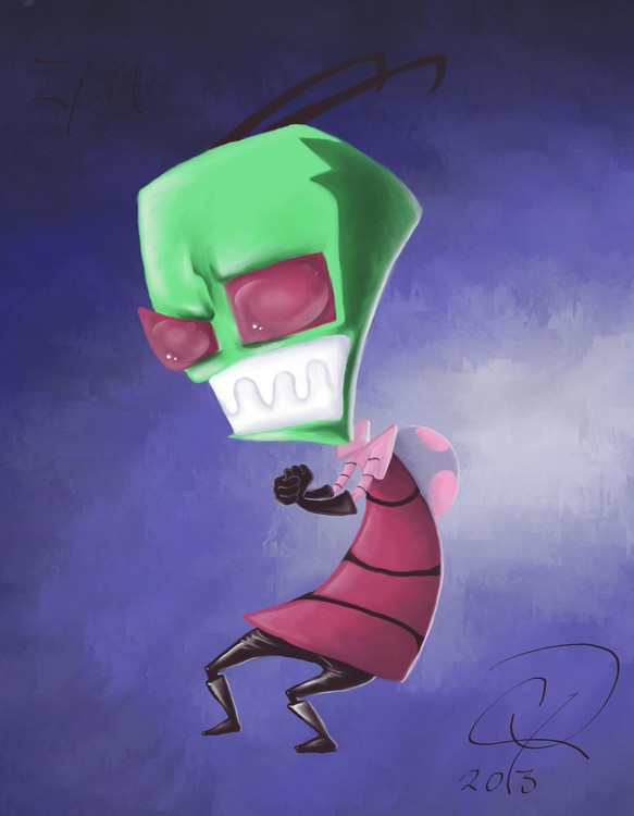 Invader Zim Fan Art