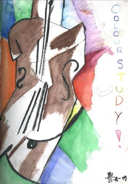 Violin - Cubism