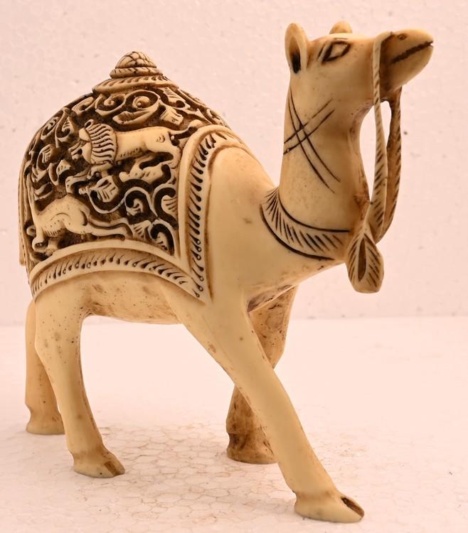 Antique Handmade Sculpture Camel