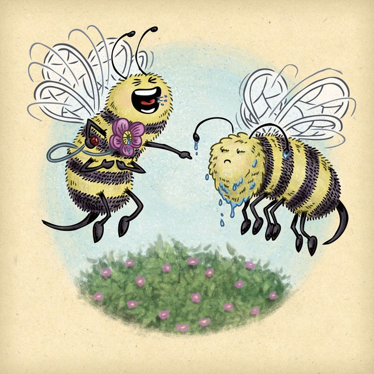 April Fool's Bees
