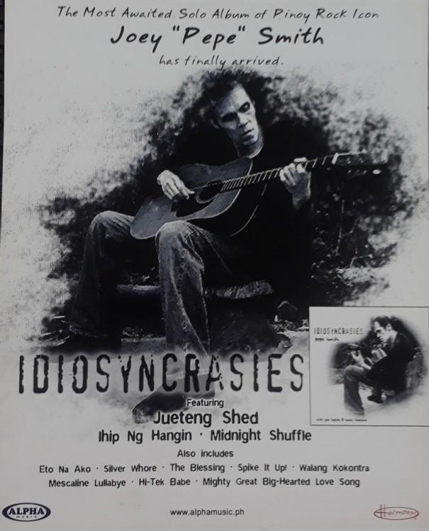 Joe Pepe Smith Poster