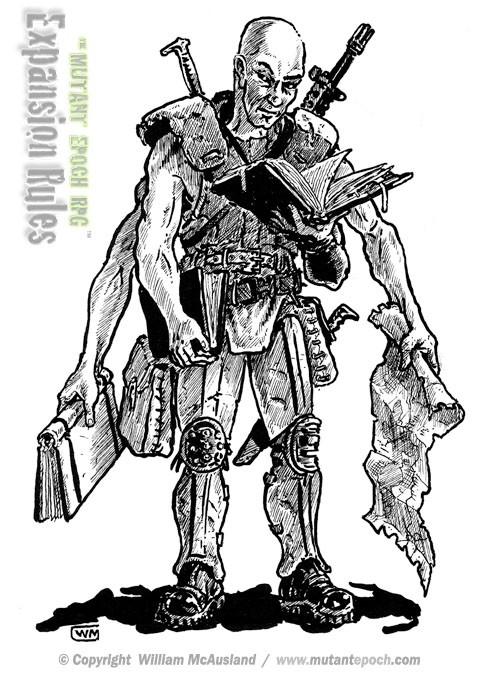 Mutant Historian
