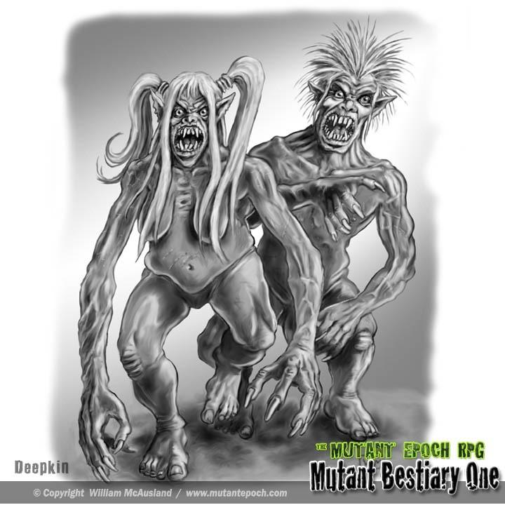 Deepkin Mutants