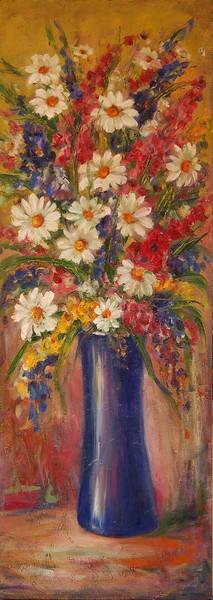 Blue vase 2