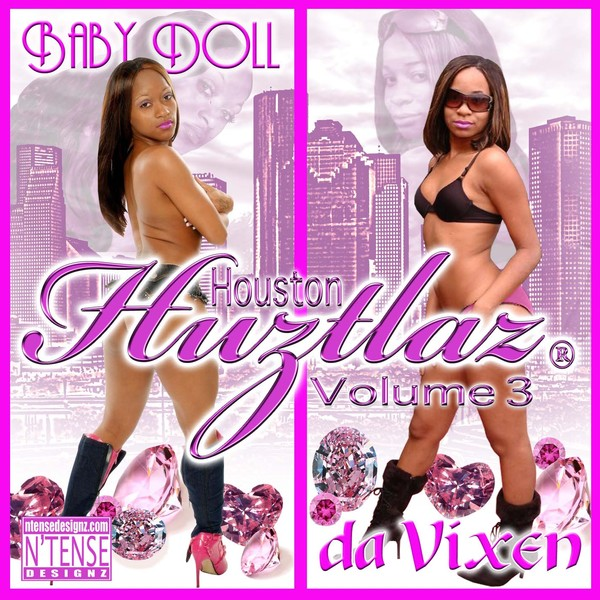 Houston Huztlaz Vol. 3 CD Cover