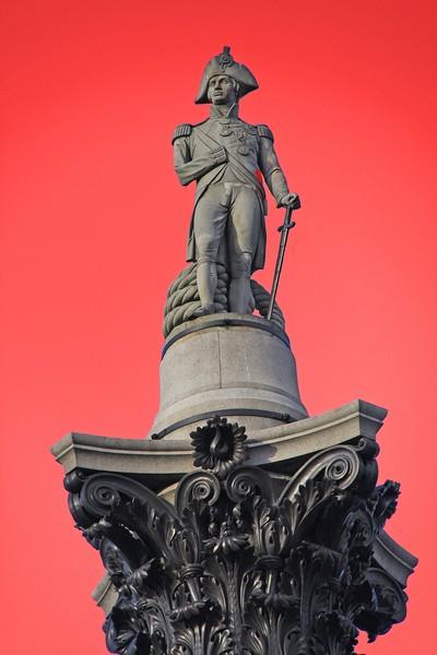 Nelson's Column London (x2)