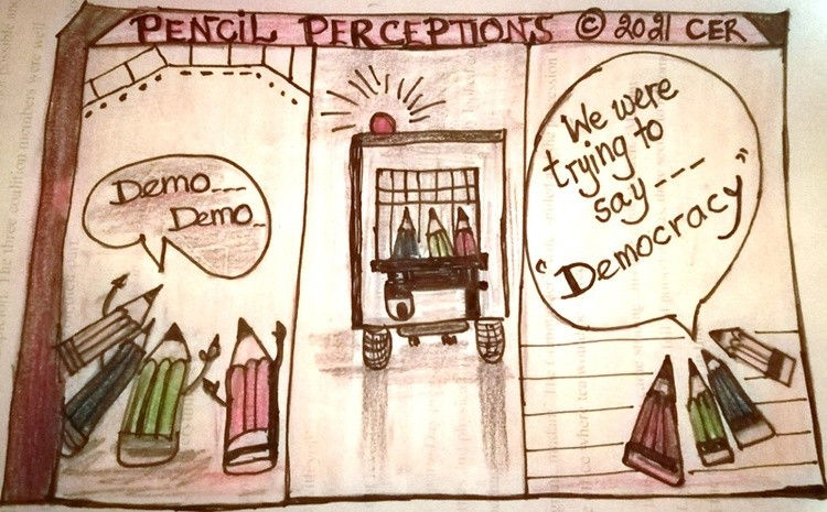 pencils womens day