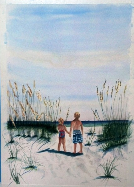 Brother Sister Beach SOLD!