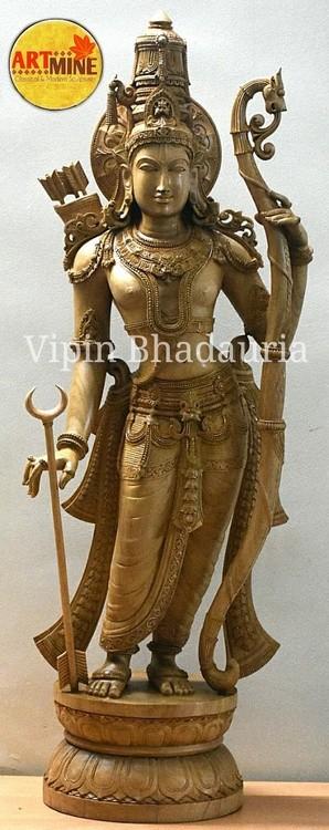 Rama sculpture