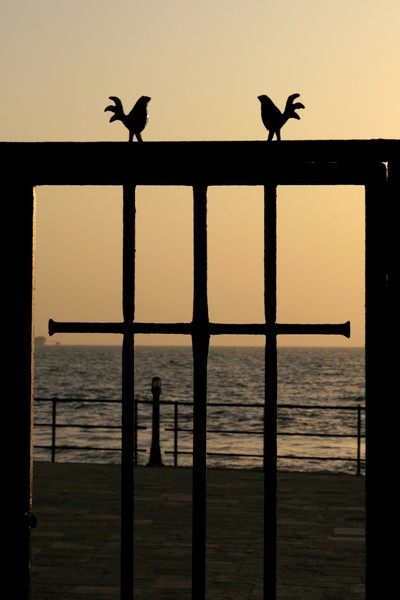 Sunset at Caesarea