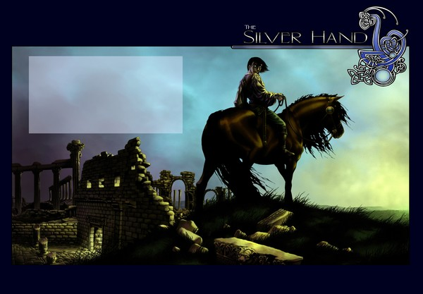 The Silver Hand cover design