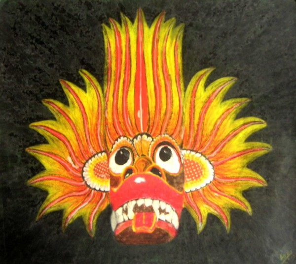 Traditional Mask Sri Lanka