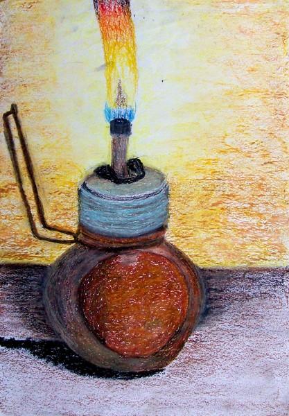 Bottle lamp 2