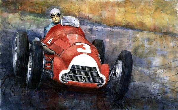 Alfa Romeo158 British GP 1950 Luigi Fagioli