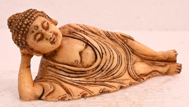 Antique Handmade Sculpture Budha