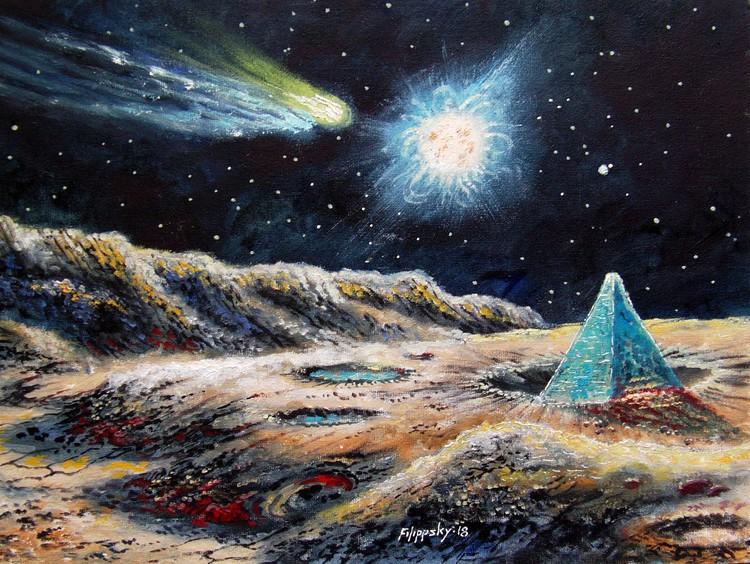 Blue Pyramid of Mercury.