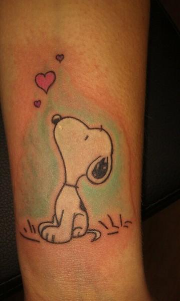 Snoopy Tattoo