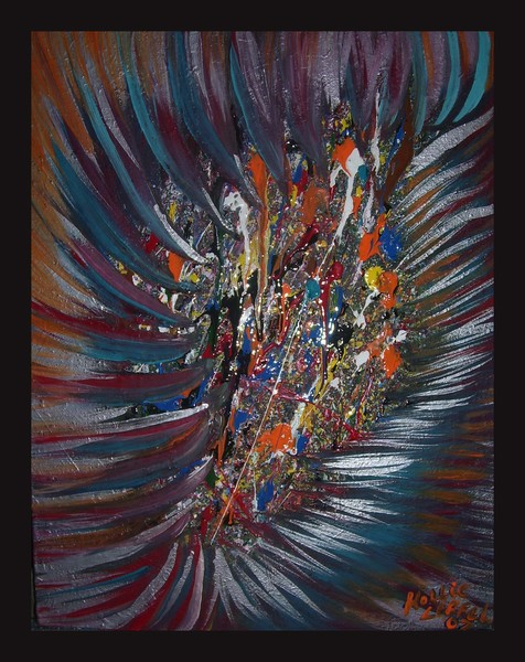 Splatter-an Abstract painting