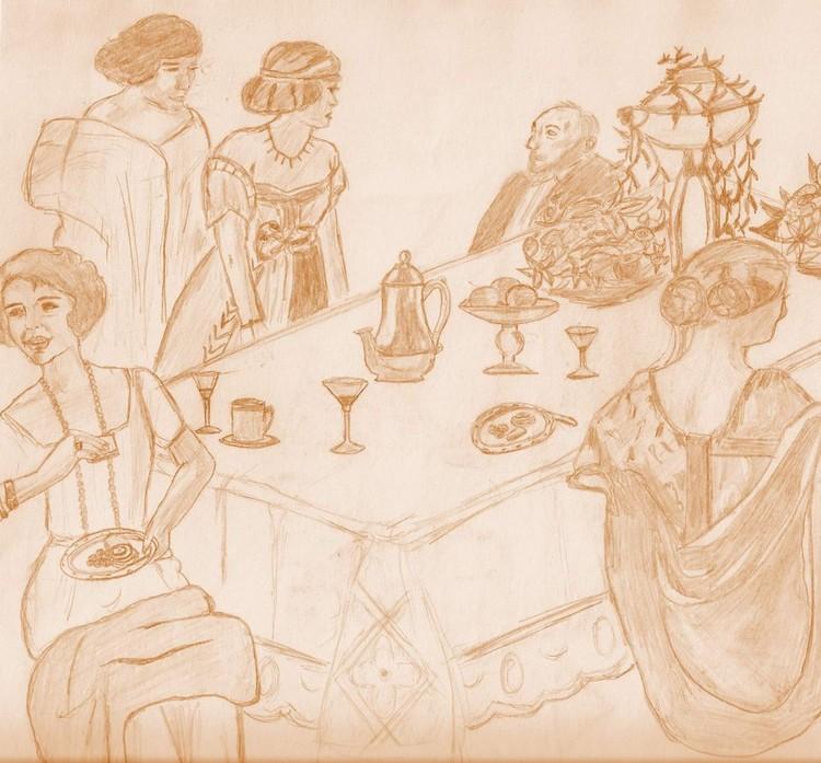 Banquet celebration.