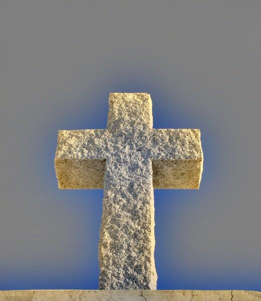 Cross Made of Stone  1