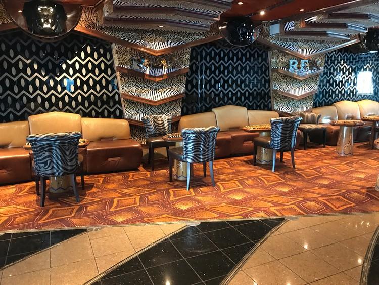 Carnival Paradise Rex Lounge
