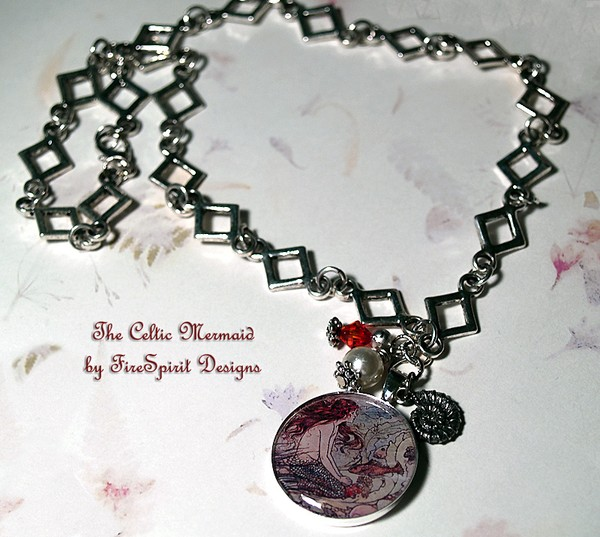 The Celtic Mermaid- handmade artisan jewelry