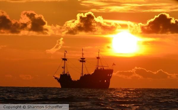 Cruising the sunset
