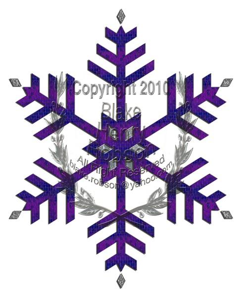 Snow flake pattens