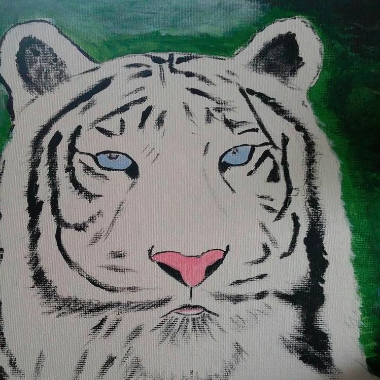 whit tiger