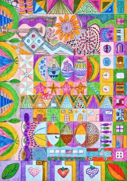 Shapes Mosaic