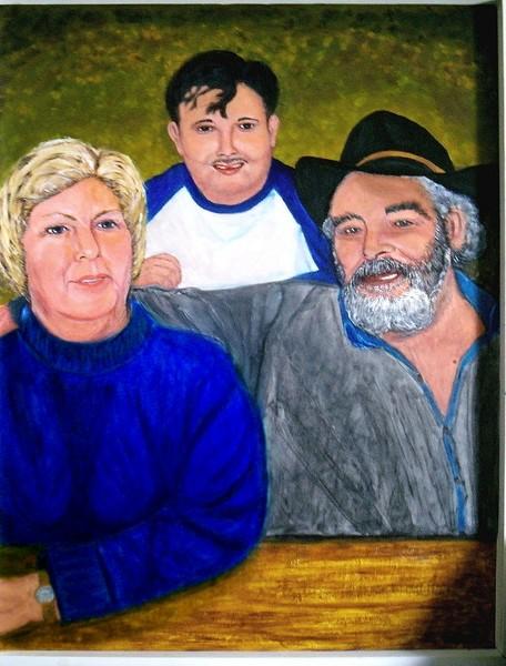 The Artist's Family Portrait